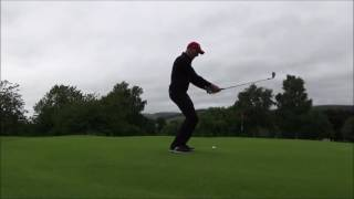 Golf..... Don't maintain your spine angle