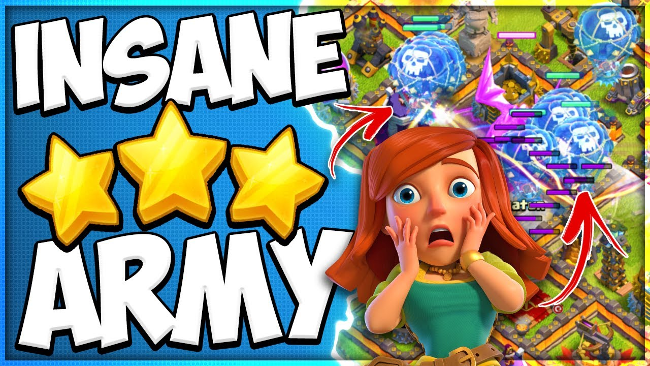 Anyone Can Use this Easy TH10 Attack Strategy! Electrone LaLo is the Best Air Army in Clash of Clans