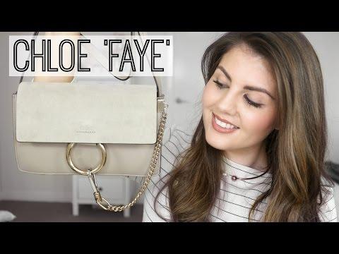Unboxing My CHLOE 'FAYE' Small Handbag | Rachael Jade