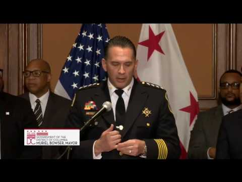 Mayor Bowser Names Chief of Police & Director of DC Dept. of Corrections, 2/23/17