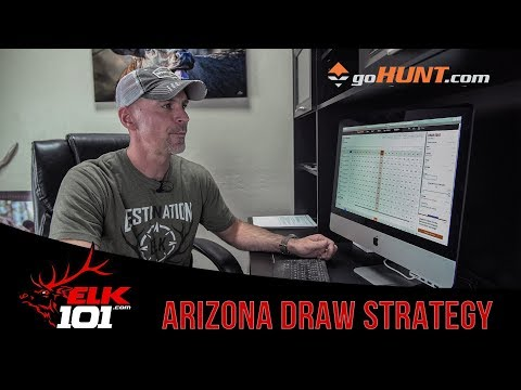 Applying For An Elk Tag In ARIZONA - Corey's Application Strategy 2019