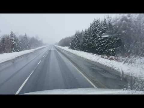 Дальнобой Канада из Quebec city to Montreal