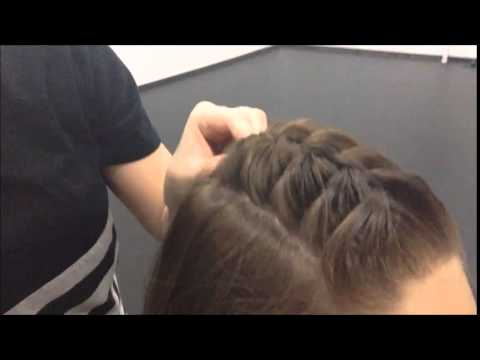 competition hair tutorial