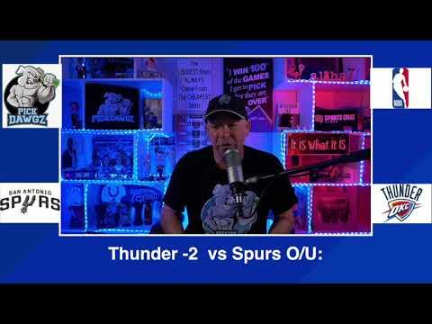 Oklahoma City Thunder vs San Antonio Spurs 2/24/21 Free NBA Pick and Prediction NBA Betting Tips