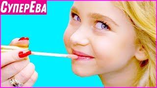 Модельная прическа, маникюр и макияж для девочки. Как стать моделью? 1 сезон 3 серия. Супер Ева