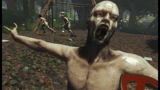 人喰い人間がいる森でサバイバル生活!ホラーゲーム おじいちゃん実況 Part1