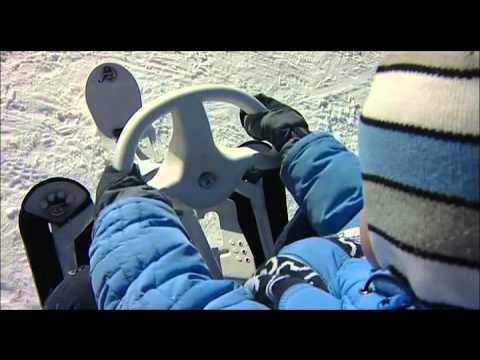 Санки детские для двойни с колесами - Магазин
