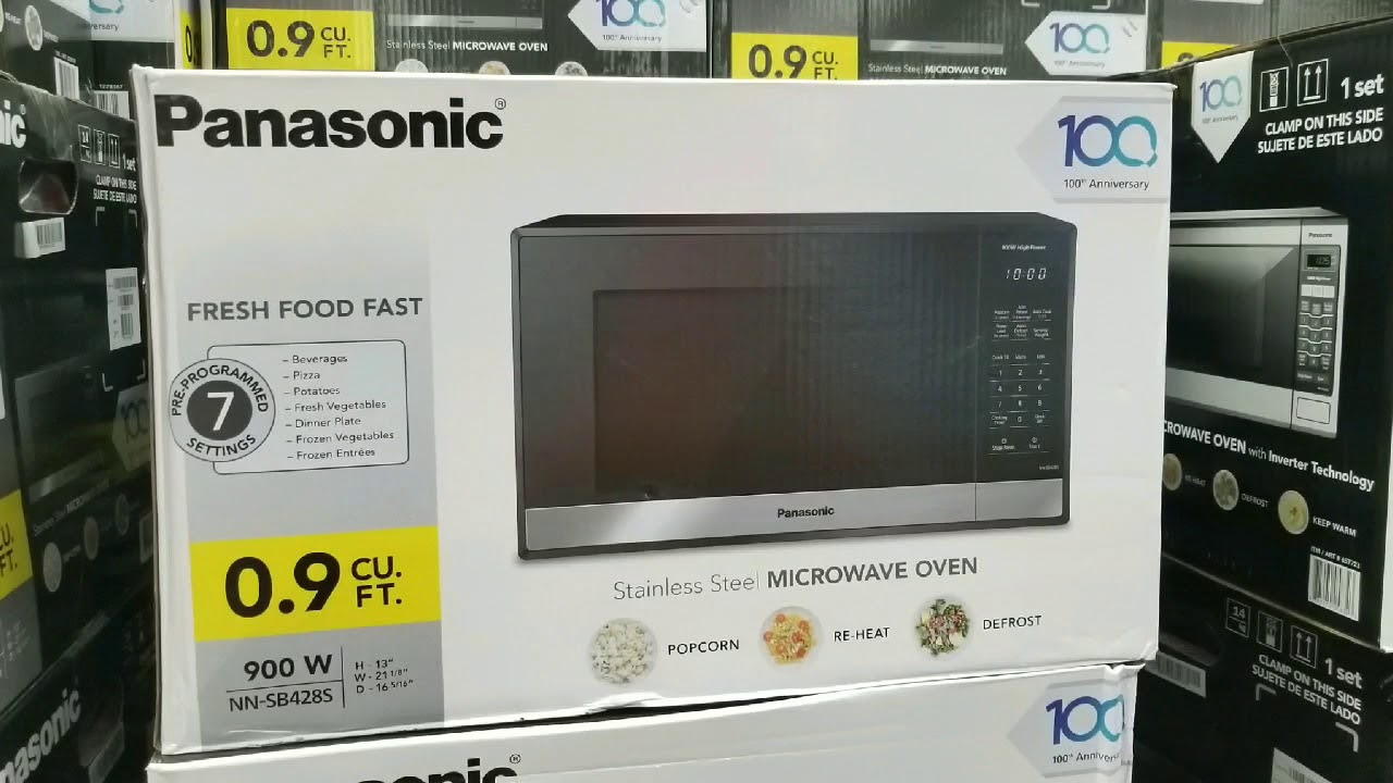 Costco Panasonic Microwave 9 Cubic Foot 59
