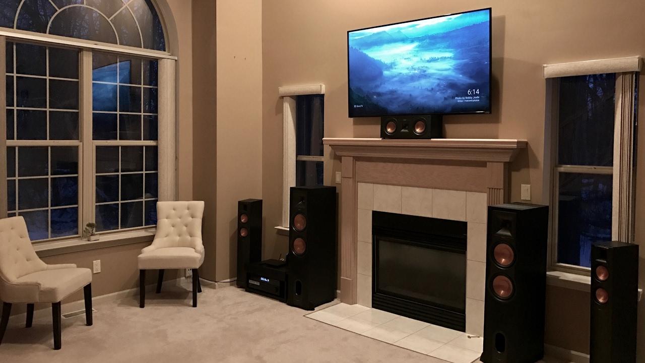 7 speaker klipsch home theater review youtube. Black Bedroom Furniture Sets. Home Design Ideas