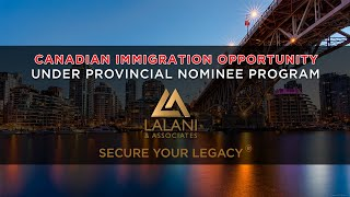 Canadian Immigration Opportunity for Banking, Credit & Investment Managers