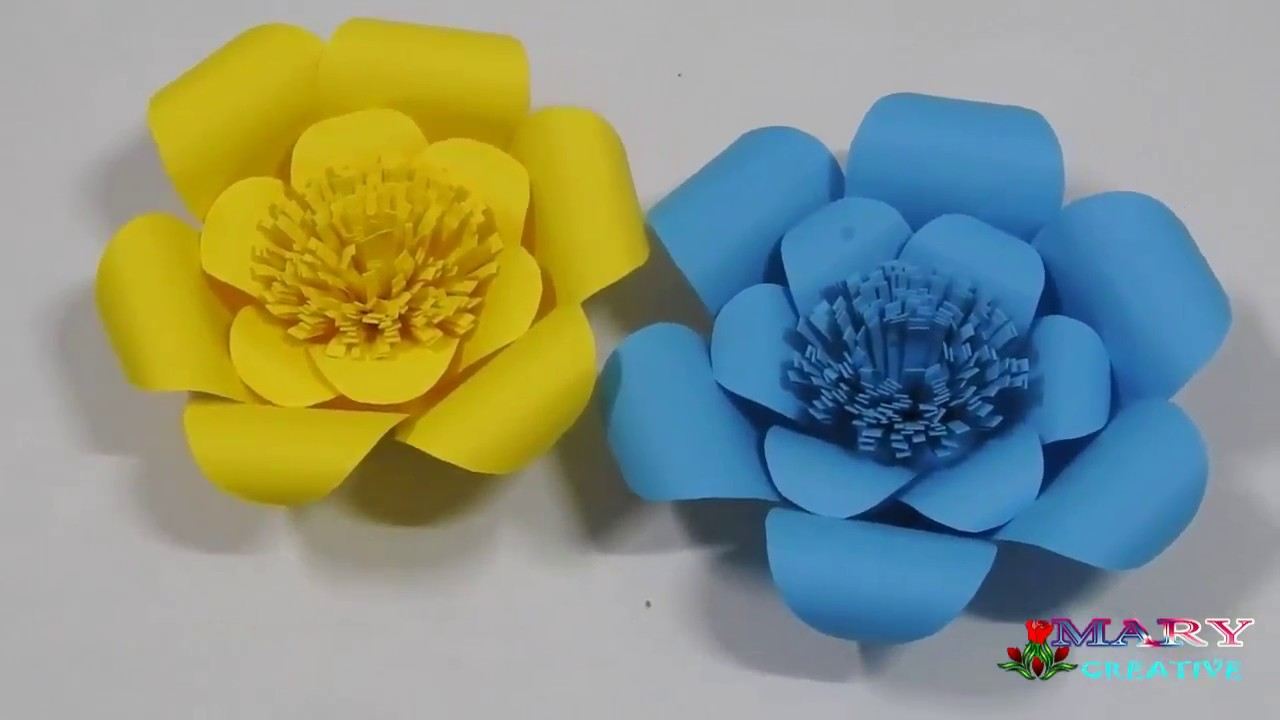 Creative Paper Flower Making Vatozozdevelopment
