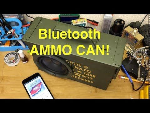 Ammo Can Speaker - Bluetooth (Yet Another)