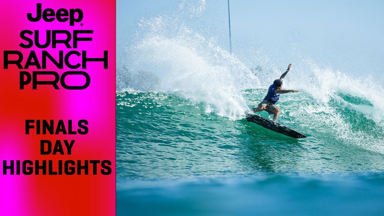 Finals Day Highlights From The Jeep Surf Ranch Pro presented by Adobe