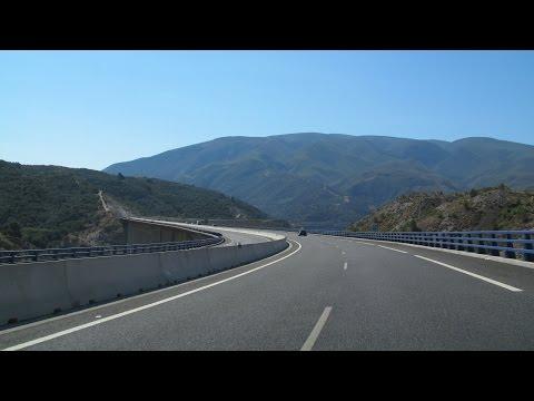Spain: A-44 Granada - Motril (through the Sierra Nevada)