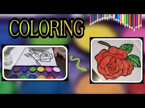 FLOWER COLORING | YOONAH MORA