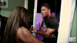 RON AND SAM ARE FIGHTING! - Jersey Shore - Season 3