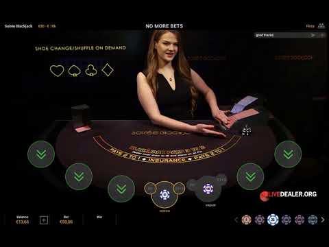 Playtech´s Live Soirée Blackjack