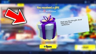 The Fortnite Gifting System Returns! (How to Gift Skins in Fortnite)