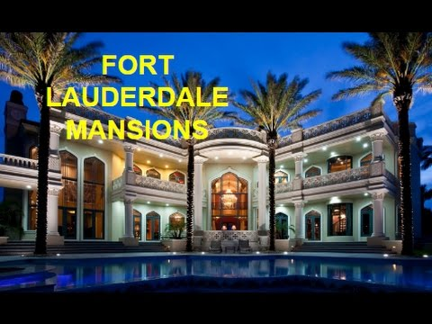 Fort Lauderdale million dollar listings and mansions for sale