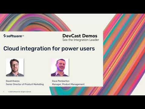 DevCast: Cloud Integration for Power Users