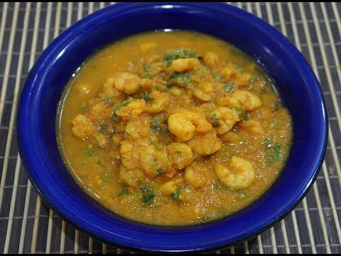 🍤🇬🇧🇮🇳 Prawn Curry Recipe - Indian Shrimp Masala - Fast n Easy