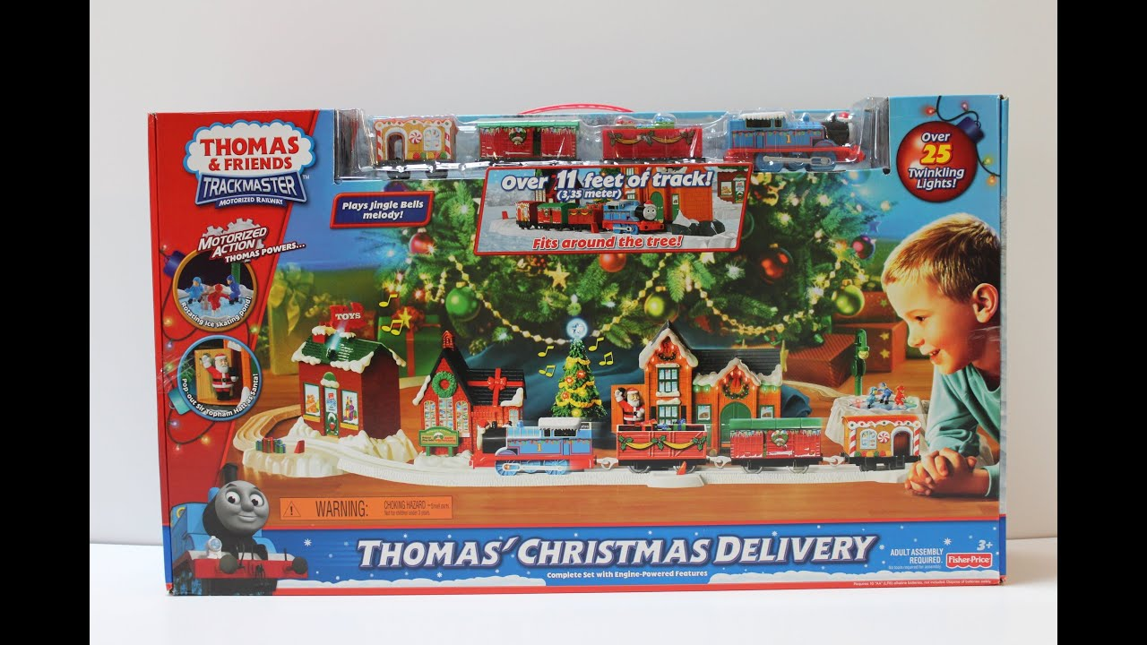 Trackmaster Thomas' Christmas Delivery - YouTube