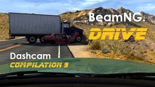 BeamNG. Drive - Dashcam Crashes 9