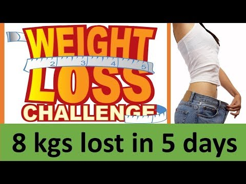 LOST 8 KGS IN 5 DAYS    100% EFFCTIVE    NO EXERCISE    FAST WEIGHT LOSS    INCREASE METABOLISM