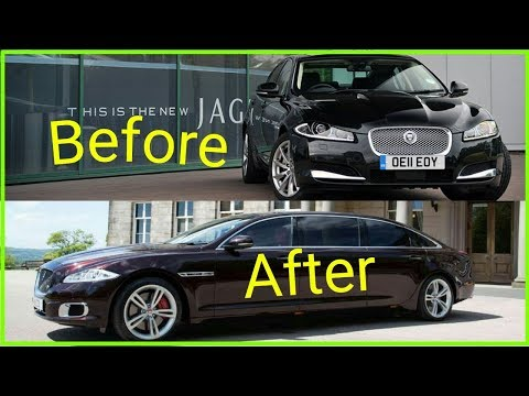 Jaguar Xf - Building A Homemade Limousine In 7 Minutes