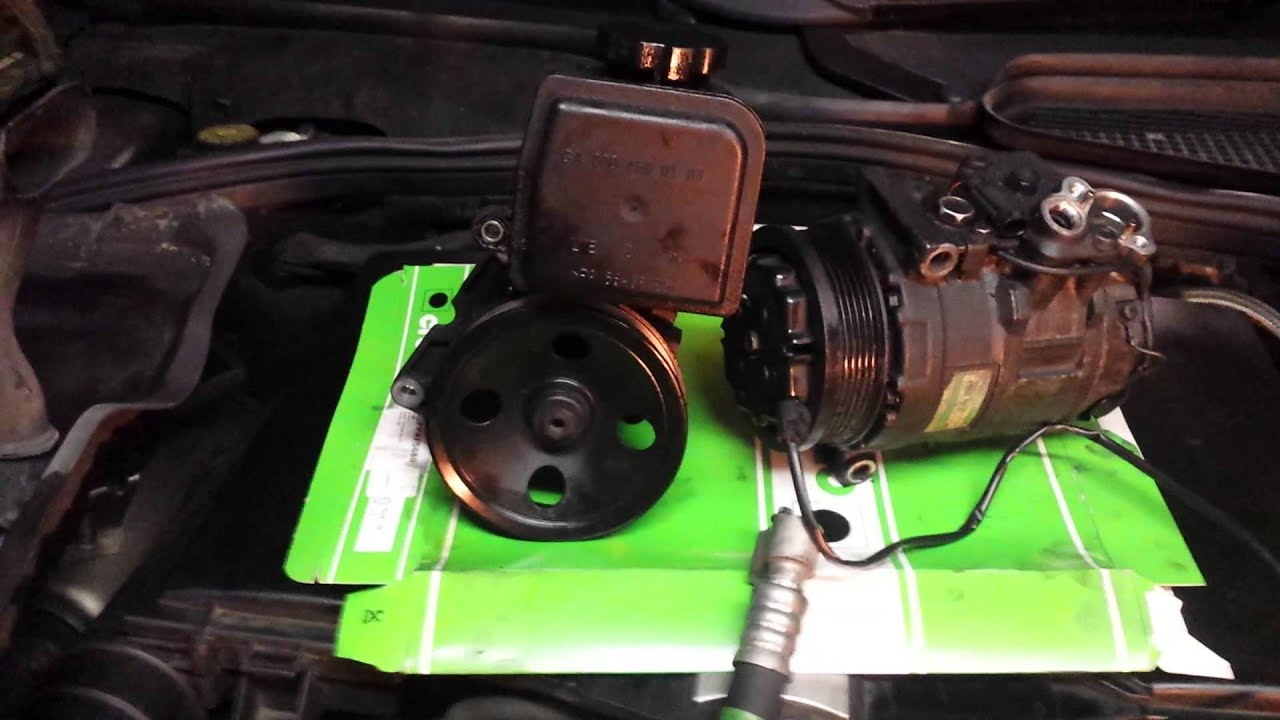 Part 3 / 7 - Mercedes S-Class S320 W220 petrol - Failed AC compressor -  Additional notes
