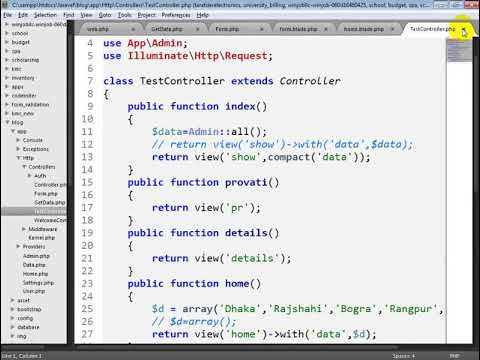 insert data | laravel project bangla _06(A) thumbnail