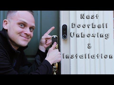 Nest Hello Doorbell Unboxing & Installation
