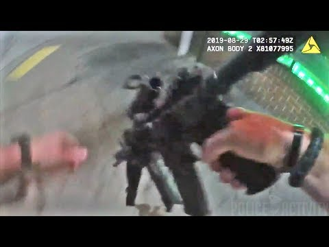 Bodycam Video Shows Scene From Police Shootout in Baltimore, Maryland