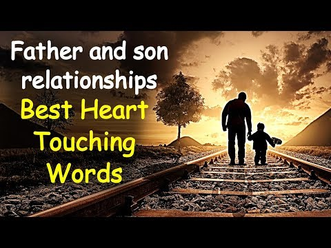Best Father And Son Inspirational Quotes | Father And Son Relationships | Heart Touching Sayings