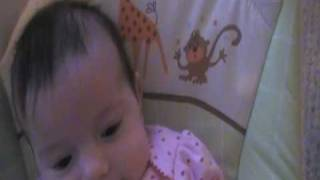 Chacey in her Bouncy Chair Thumbnail