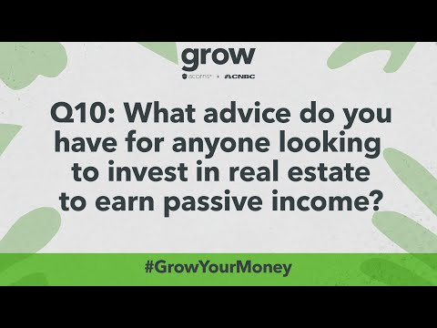 Q&A - CNBC & Acorns (Grow Magazine) - Making Passive Income From Real Estate Investing In 2021
