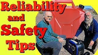 Reliability Tips for Generators: How to Carry Gas--NATO Gas Cans