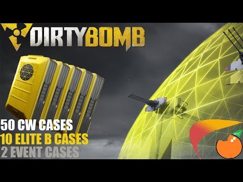 Dirty  Bomb   Farmed 50 Containment Wars/w 10 Elite + 2 Event Case Opening