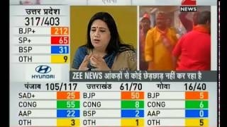 elections results 2017 trends from up ukhandpunjab goa and manipur