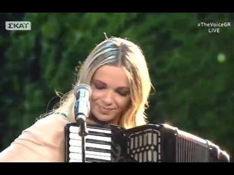 """Νικολέτα Μηλιώνη: """"Μάνα μου Ελλάς""""  2o    The Voice of Greece"""