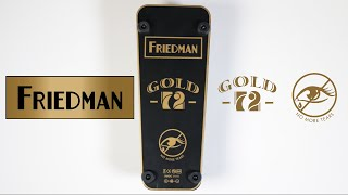 Friedman Gold 72 Wah Pedal Demo Video by Shawn Tubbs