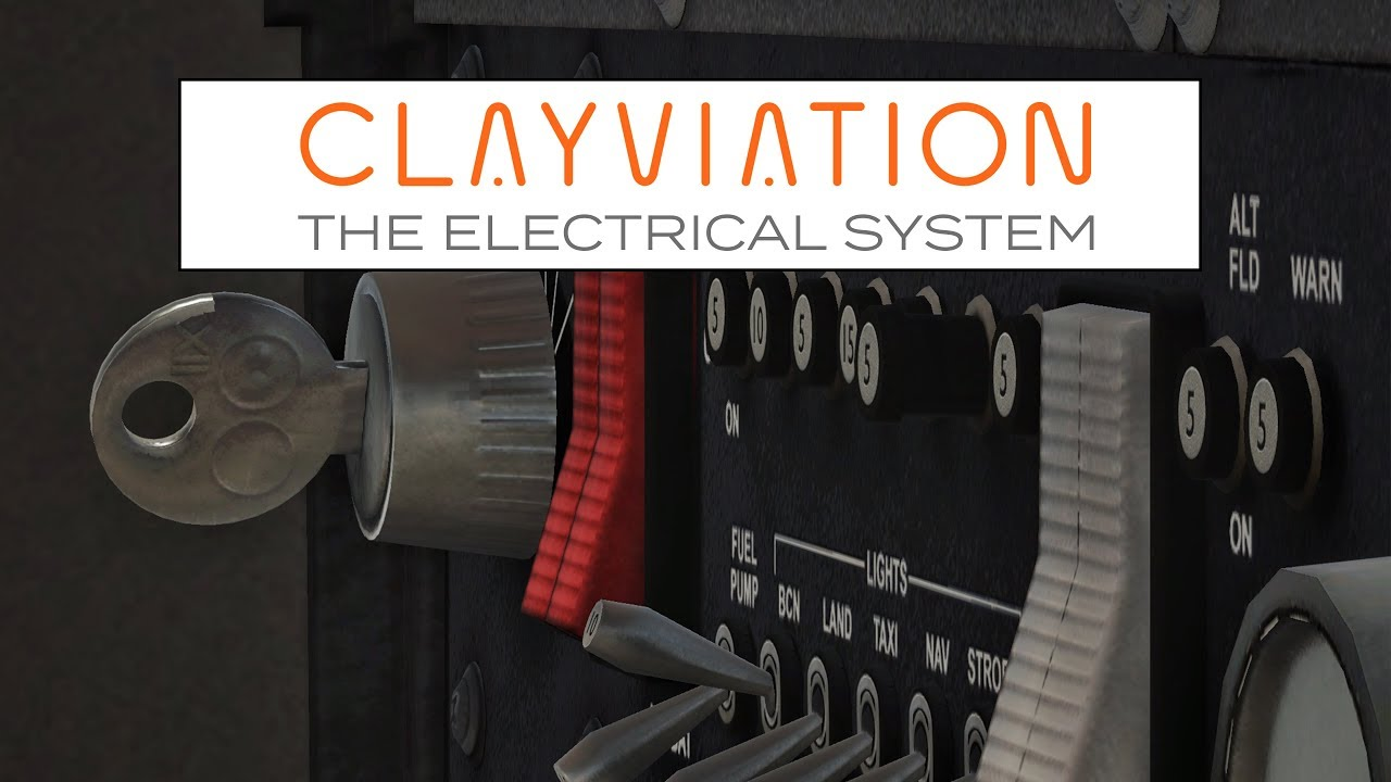 x-plane 11 | the cessna 172 electrical system