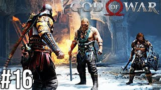 EPICKA WALKA I EPICKI ODCINEK... - God of War 4 #16
