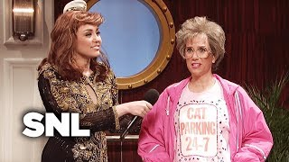 Grossed Out Cruise Ship Singer - SNL