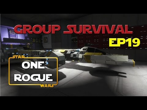 Space Engineers - Group Survival Series - Ep 19 - One Rogue