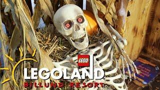 Halloween at Legoland Amusement Park in Billund Denmark