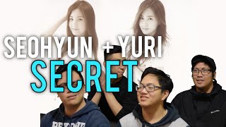 SEOHYUN x YURI | SECRET MV Reaction (that pantene tho.) [4LadsReact]