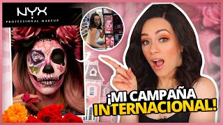 MI CAMPAÑA INTERNACIONAL CON NYX COSMETICS! | TODO LO QUE PASO DETRÁS DE CÁMARAS! | STORYTIME