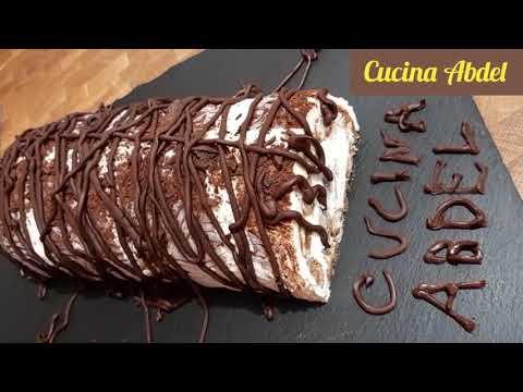 recette-de-tiramisu-roulé-forme-de-bûche-waw...-تيراميسو-على-شكل-بيش-بنكهة-القهوة-مذاق-لايقاوم