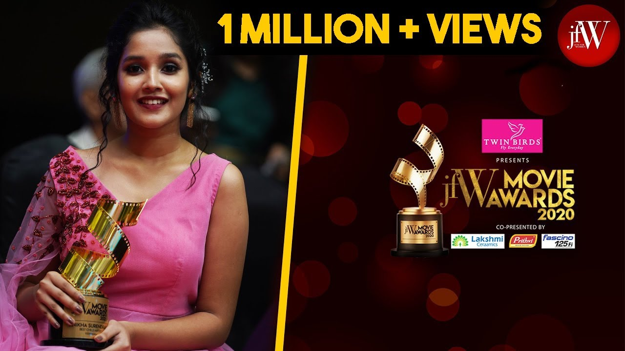 Best Child Artist Anikha Surendran|ViswasamIAjith Sir is the best person to work |JFW Movie Awards